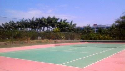 cancha tenis Punta Centinela