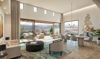 Elegant living room - apartments for sale in Quito
