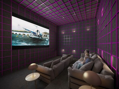 Surround system cinema in new apartments for sale in Quito