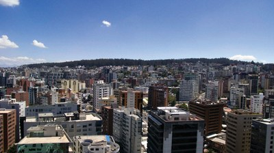 Incredible views of Quito