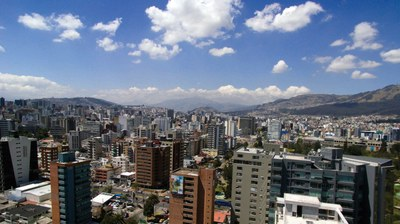 Live with incredible views in this brand new apartment building in Quito