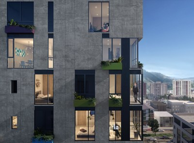 Brand new apartments with a view for sale in Ecuador