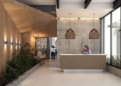 Contemporary designs in new apartments for sale in La Carolina, Ecuador