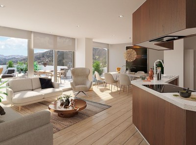 Luxurious apartmets for sale in Quito