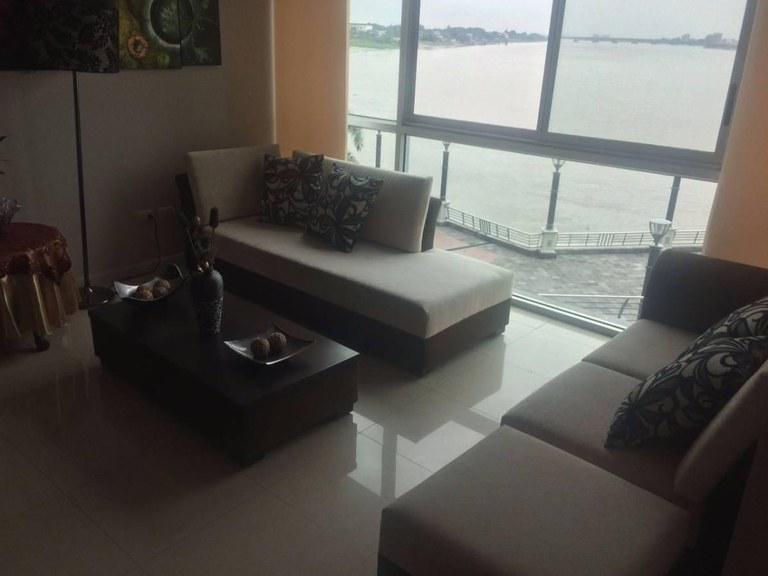 Elegante Departamento de alquiler en Guayaquil, con vista al Río River Front