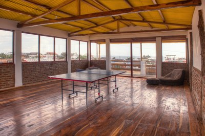 Rooftop Recreation And Yoga Area