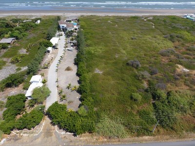 Oceanfront Home Construction Site For Sale in Playas