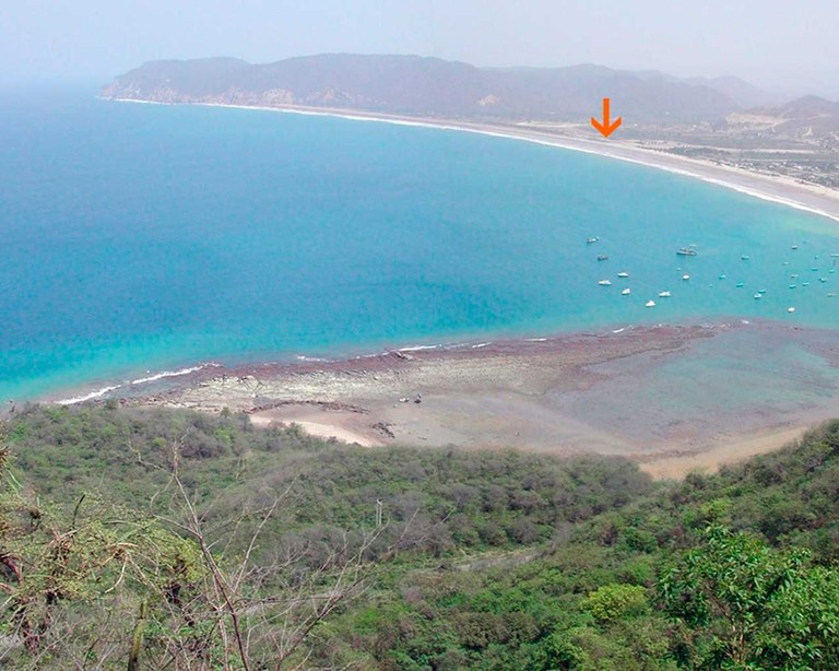 Beachfront land for sale in Puerto López! Perfect investment opportunity that won't last long!