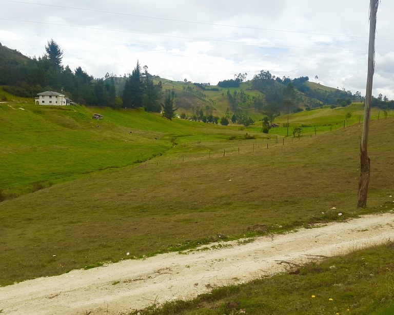 Countryside Agricultural Landfarm For Sale In Tarqui Cuenca