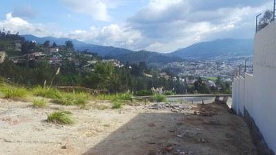 Hermoso Terreno en venta con vista al Valle de Loja, dentro de Urbanización Privada