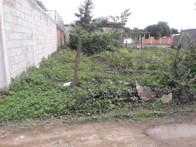 Terreno Cerca al  Parque Forestal Portoviejo
