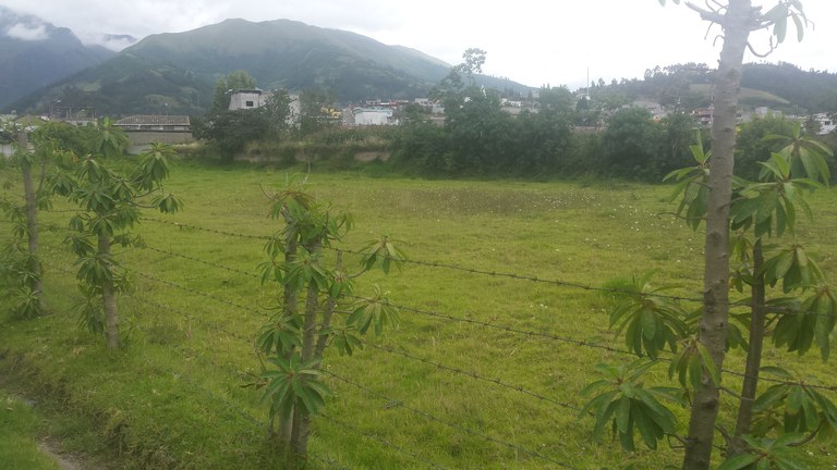 Garden Park Building Lot Near Lago Cabanas: Riverfront and Mountain Home Construction Site For Sale in Otavalo