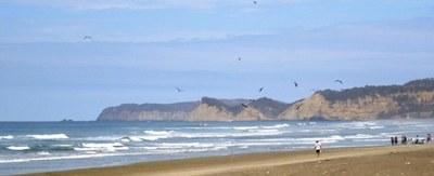 Playa Las Tunas frente a la propiedad.JPG