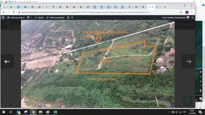 Ayampe via satelite, delimitacion de la propiedad.jpg