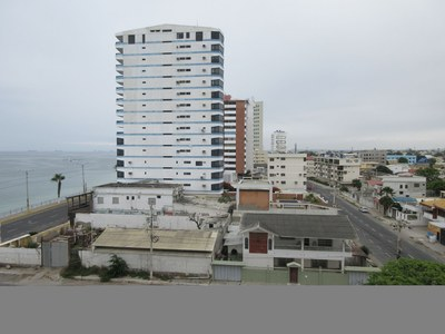 Master Bedroom View Of Ocean And City