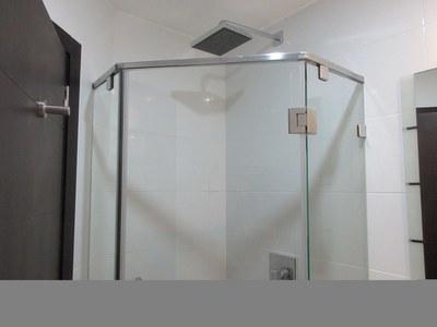 Rain Shower Head In Master Bathroom