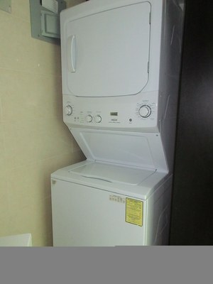 Stacking Washer Dryer.