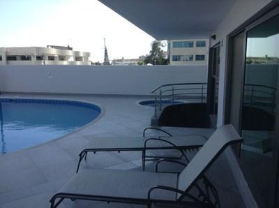 Pool Side Seating.