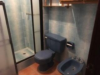 Serene Blue Color Scheme In Bathroom