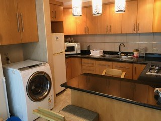 Laundry Area In Kitchen