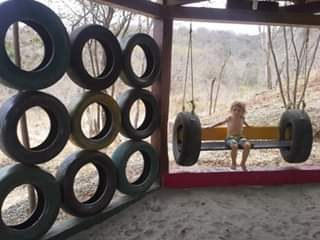 Unique Tire Swinging Chair