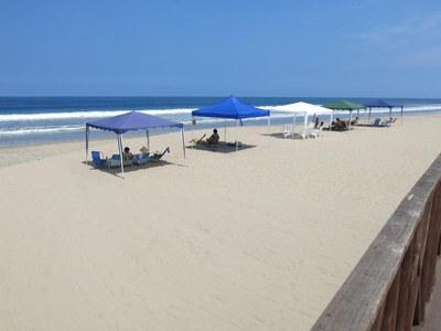 toes in sand direct beach access - directo al mar