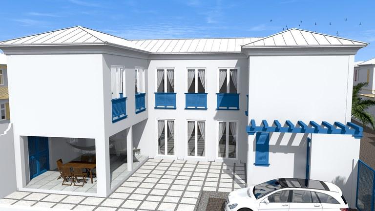 Bahia muyuyo casa grande estilo porte cochere for Piani di casa porte cochere