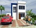 Modelo Santorini, 3 dormitorios, 2 baños y patio