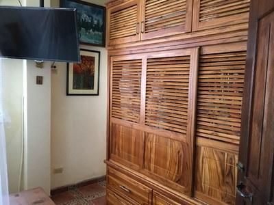 Second Floor Master Closets.
