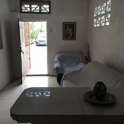 38 View from kitchen to front door of guest house.jpg
