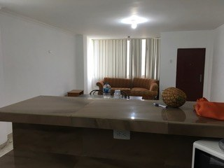 Nice Bar Separates Kitchen From Living Area