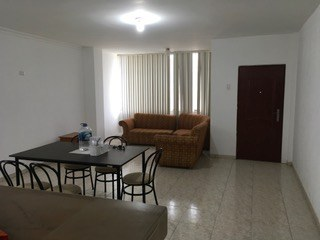 View Of Living Area And Front Door