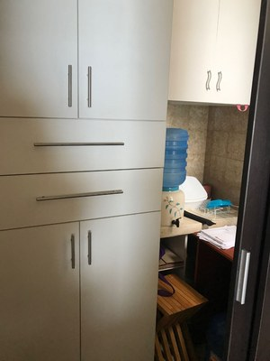 Storage Cabinet In Nook