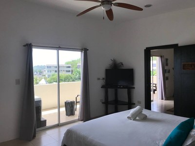 Sliding Glass Doors From Master Bedroom To Balcony