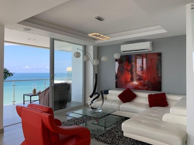 Mykonos: Near the Coast and Oceanfront Apartment For Sale in Manta