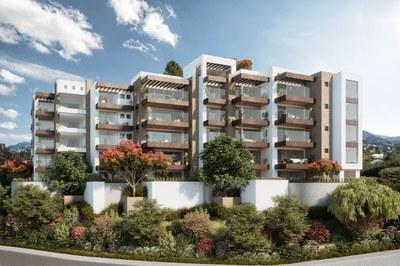 S 106: Hermosos Apartamentos Con Espacios Abiertos y Salas Exteriores en Venta en Cumbayá