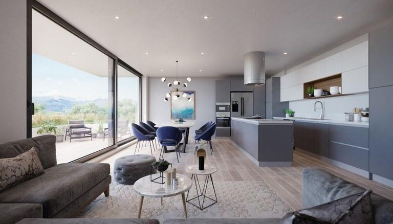 K 102: Nuevos y Modernos Apartamentos Ubicados en una Zona Privilegiada de Cumbayá