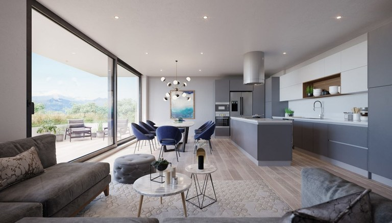 K 203: Nuevos y Modernos Apartamentos Ubicados en una Zona Privilegiada de Cumbayá
